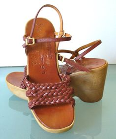 Vintage Famolare Hi There Made in Italy Platform by EurotrashItaly, $74.99