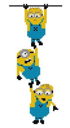 Cross Stitch minions_e_0FS3 - via @Craftsy