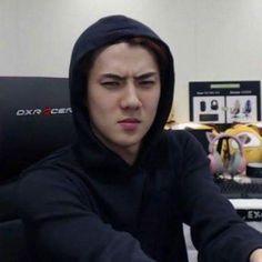 Memes Para Contestar Kpop Exo Ideas For 2019 Kyungsoo, Chanyeol, K Pop, Memes Exo, Funny Kpop Memes, Meme Pictures, Reaction Pictures, Meme Faces, Funny Faces