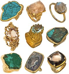 """Rock""star rings"