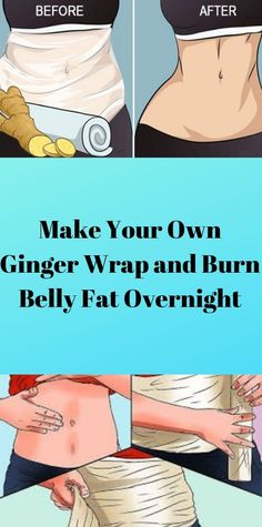Make Your Own Ginger Wrap and Burn Belly Fat Overnight - Bulk Loss Diet Colon Health, Health Diet, Health And Nutrition, Health And Wellness, Health Care, Natural Health Tips, Health And Beauty Tips, Herbal Cure, Herbal Remedies