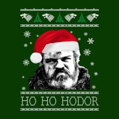 Game Of Thrones Ho Ho Hodor Christmas Knit