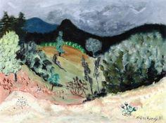 Vermont Landscape - Milton Avery - The Athenaeum