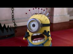 When Dad Isn't Home - Minions Funny Video - YouTube