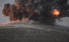 2014 Der Kampf um Kobane - Bekämpfung des ISIS Terror ( Luftschläge der USA gegen ISIS terroristen in Kobane)