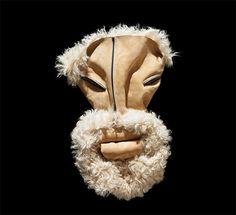 Fashion Cloths' face by Bela Borsodi. It looks like an awesome mask!