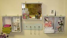 Estantes e prateleiras diferentes - Reaproveitando móveis