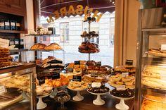 Café Husaren in Gothenburg, Sweden.