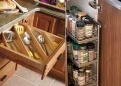 You must recognize that this kitchen utilizes a lot of space, so it's much better to design all right so that space is completely made use of. Rather than exploring cupboards and drawers for numerous items, taking the time to standardize, maintain your kitchen organized. You've limited storage space when it comes to small kitchens.