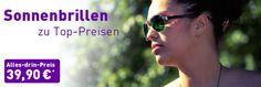 Jede Brille auch als Sonnenbrille: einfach Wunschmodell und Tönung auswählen