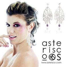 Bouquet earrings slver Asterisco-S