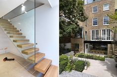 A Victorian terrace in Bayswater transformed into a modern home with bright interiors and a landscaped garden.