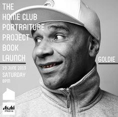 One of the #portraiture #subjects in the #book    #GOLDIE    #drumnbass #singapore #International #DJ #homeclub #portraiture #project #hcpp