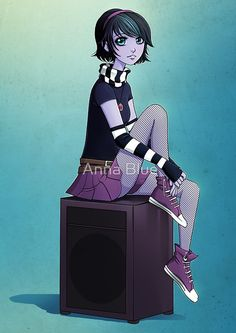 ANNA BLUE - AMPLIFYING