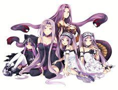 Medusa and family