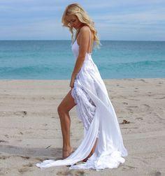 Sexy Strand-Hochzeitskleid Monica