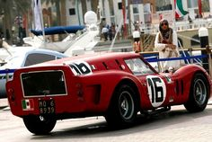 Ferrari 'Breadvan' @ Vintage and classic car rally in Kuwait City - Kuwait Concours 2012