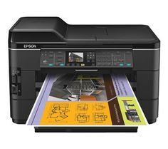 All-in-one Epson wide-format printer offering mobile printing for on-the-go use with the fasted single and double sided print speeds in their class.