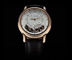 Romain Gauthier Prestige HMS Ten Red Gold Champagne Watch