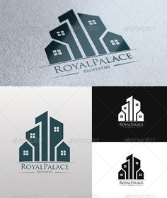 Logo Templates - Royal Palace Properties Logo   GraphicRiver
