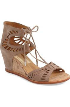 Dolce Vita 'Linsey' Lace-Up Wedge Sandal (Women) available at #Nordstrom