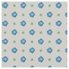 A very pretty fabric, with a seamlessly repeating pattern of tiny Blue Morning Glories and Green Polka Dots on a White background that you can change if you wish. Part of the Posh & Painterly 'Morning Glory' collection - perfect for quilting and other craft or home decor projects: up to $27.95 per yard - http://www.zazzle.com/custom_blue_morning_glory_floral_polka_dot_fabric-256155476281436384?rf=238041988035411422&tc=pintw