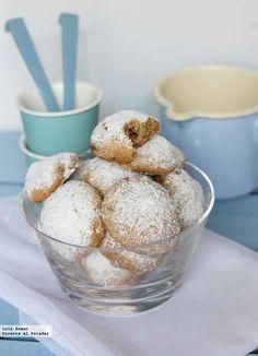 Receta de galletas de nueces y mantequilla.