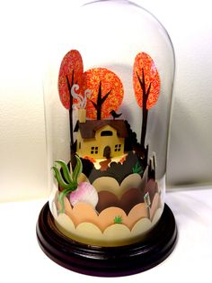 The Gigantic Turnip Fairytale Dome by Frubean on Etsy, £130.00