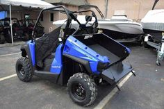 New 2017 Kymco UXV 450i ATVs For Sale in Florida. There is very little basic about the basic UXV 450i, the compact utility vehicle that wears the big boy pants. With a chassis designed for maneuverability, the UXV 450i doesn't skimp on performance. A large capacity, gas-assisted tilting cargo bed, outstanding ground clearance and 443cc, fuel-injected engine with CVT automatic transmission make the UXV 450i a true workhorse. When the terrain gets tough, go from 2WD to 4WD with the turn of a…