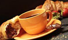 Coffee, Coffee, Croissant, Coffee Cup #coffee, #coffee, #croissant, #coffeecup