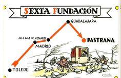 Sexta Fundação de Santa Teresa de Ávila: em Pastrana.