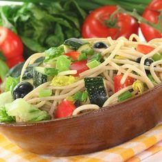 Spaghetti Summer Zucchini Salad Recipe