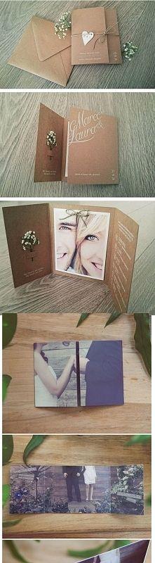 Zobacz zdjęcie zaproszenia ślubne ze zdjęciem pary młodej:)