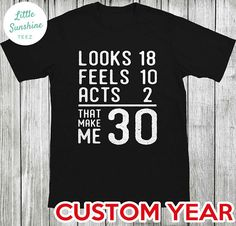 49 Ideas Birthday Quotes For Him Turning 30 Husband 30th Birthday, Surprise 30th Birthday, Birthday Cake For Him, 30th Birthday Shirts, Birthday Quotes For Her, Thirty Birthday, 30th Party, 30th Birthday Parties, Best Birthday Gifts