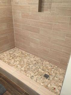 Image result for master bathroom beige shower brown floor