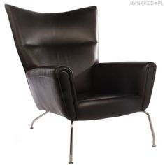 Hans Wegner Wing Chair Replica in Leather - Lobby Lust Commercial Furniture Wing Chair, Sofa Chair, Hans Wegner, Commercial Furniture, Interior S, Recliner, Lust, Leather, Inspiration