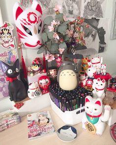 3,924 vind-ik-leuks, 58 reacties - 猫marion b。 ghibli ☁️ (@nekomarion) op Instagram: 'Maneki neko collection to the complete!  . . .…'