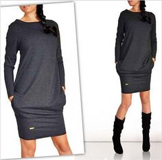 Available Now on our store:  Fashion Autumn Wi... Check it out here ! http://mamirsexpress.com/products/fashion-autumn-winter-women-dress-new-casual-clothing-work-wear-office-party-dresses-long-sleeve-plus-size-vestidos?utm_campaign=social_autopilot&utm_source=pin&utm_medium=pin