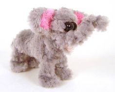 Fuzzy Baby Elephant Pipe Cleaner Animal - for more great ideas visit http://www.flickr.com/photos/yesimadeit/
