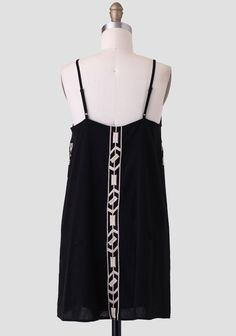Eva Embroidered Dress