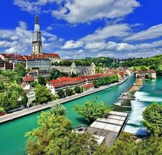 Panoramic view on the magnificent old town of Bern, capital of Switzerland | 10 TOP Things to do in Switzerland
