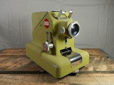 Vintage ASI Filmstrip Projector Model 330-A 35mm projector by WesternKyRustic on Etsy