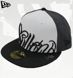 New Era NITTI Black/White/Grey Cap by Sullen Hats by Sullen: New Era, Flexfit and Snapback NEW ERA Sullen Hat #hats #painfulpleasures #sullen #clothing #fashion #snapback #flexfit #newera