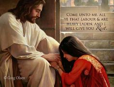 I will give you rest.