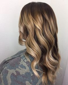 Blonde ombre hair color ideas #balayage #hairpost #handpaintedhighlights #ombrehair #blondie #blondeombre