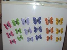 Ideias de borboleta - modelos