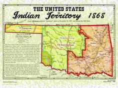 Indian Territory and Oklahoma Territory join to form Oklahoma Native American Tribes, Native American History, Choctaw Indian, Indian Territory, Trail Of Tears, Into The West, Family Genealogy, History Facts, Family History