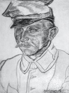 Wachmistrz ułanów Ostoi, 2. p. uł., rys. Zofia Trzcińska-Kamińska
