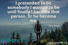 #CaryGrant #pretend #somebody #become #person #me #quote #fb