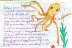 Waldorf ~ 4th grade ~ Human & Animal ~ Octopus ~ main lesson book